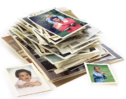 Stack-of-photographs